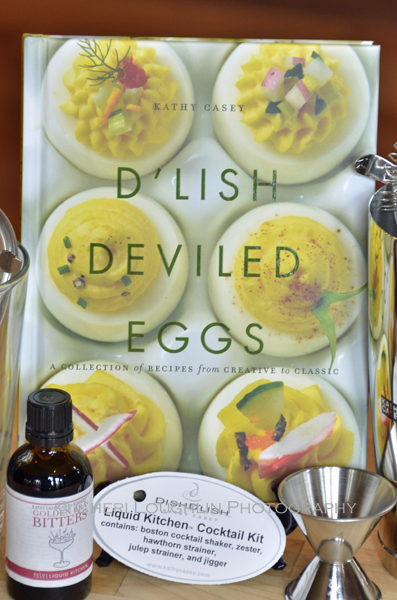 D'Lish Deviled Eggs by Kathy Casey, the Original Bar Chef - photo by Cheri Loughlin, The Intoxicologist