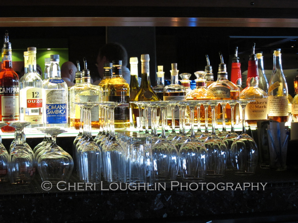 Stock your home bar with basic affordable spirits first and then add flavored liquors and premium spirits later - photo by Cheri Loughlin, The Intoxicologist