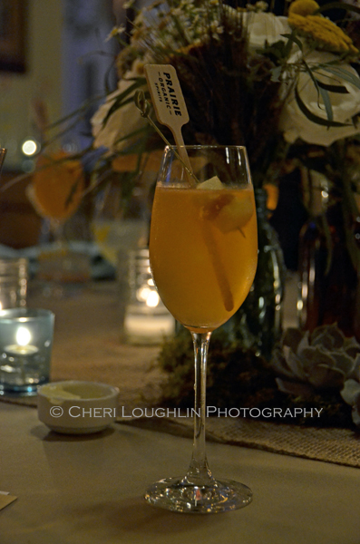 Prairie Organic Spirits Prairie Made Dinner - Happy Apple - photo by Cheri Loughlin, The Intoxicologist