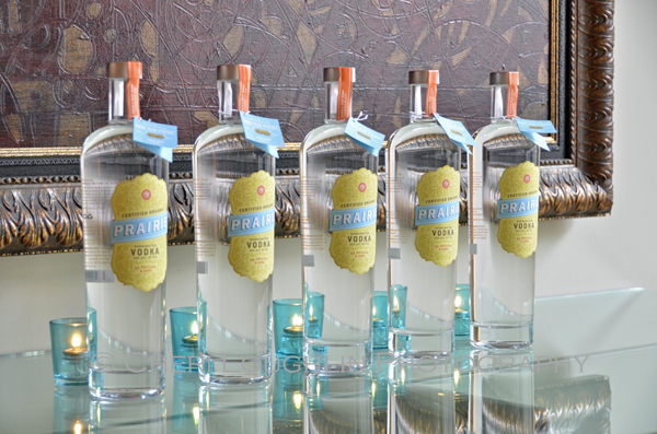 Prairie Organic Spirits Prairie Made Dinner - Prairie Organic Vodka - photo by Cheri Loughlin, The Intoxicologist