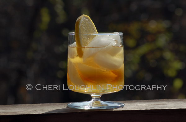 Sweet Lemon with Jeremiah Weed Sweet Tea Vodka – recipe adapted by Cheri Loughlin from partial recipe version submitted by Shana Berry of Jeremiah Weed and Limoncello