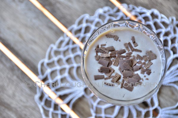 Peanut Crème Espresso - recipe and photo by Mixologist Cheri Loughlin, The Intoxicologist