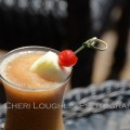 This Frozen Rum Runner uses Shellback Spiced Rum with recipe adapted specifically for blender use so the fruited flavors remain dominant rather than watered down. - photo and recipe by Mixologist Cheri Loughlin, The Intoxicologist