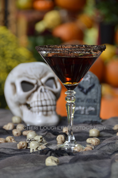 Devil's Double Chocolate Cake Cocktail