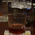 Red Witching Hour Cocktail is a great long sipping fall cocktail made with cognac, armagnac, port wine and cherry liqueur. {recipe and photo credit: Mixologist Cheri Loughlin, The Intoxicologist. www.intoxicologist.net}