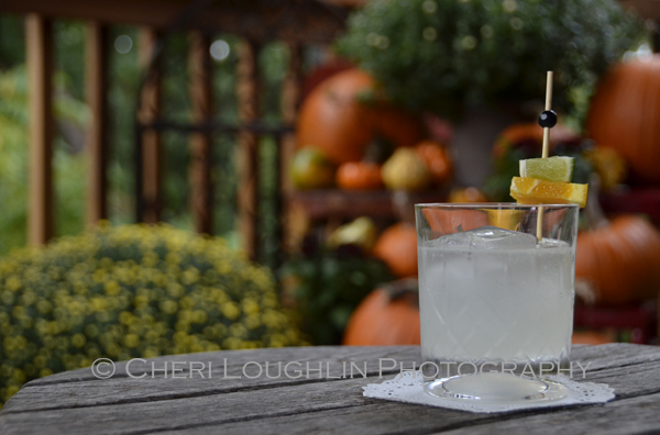 Stripped down, the White Witch is basically the ever popular classic Daiquiri cocktail with hints of chocolaty orange flavor. Club soda thins it out a bit, giving this Halloween cocktail fabulous feel good flavor. {photo credit: Mixologist Cheri Loughlin, The Intoxicologist - www.intoxicologist.net}