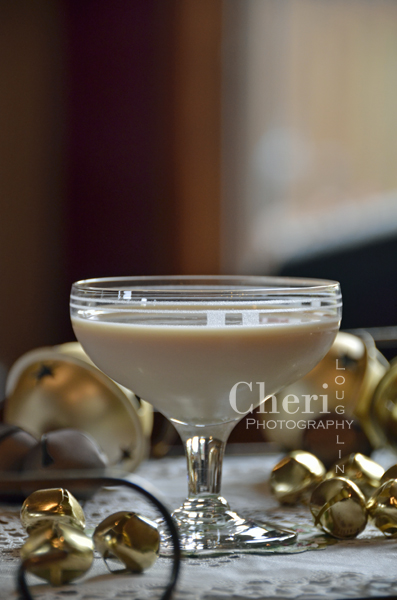 Bailey's Comet Creamy Cocktail with Bailey's Irish Cream, Chocolate Vodka, Creme de Cacao, Half and Half and Club Soda {photo credit: Mixologist Cheri Loughlin, The Intoxicologist www.intoxicologist.net}
