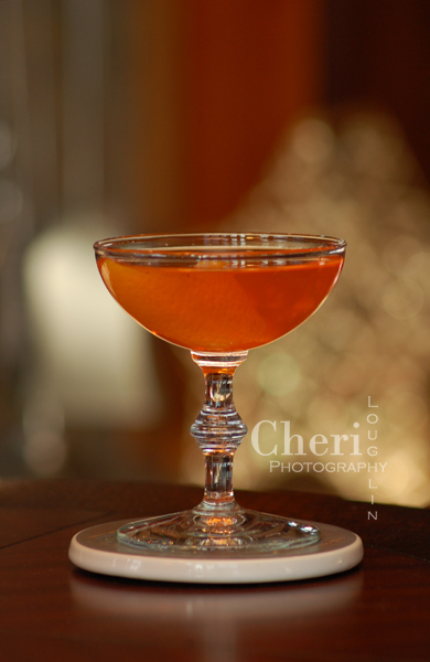The Lucien Gaudin classic cocktail is such a darling drink. Play with the recipe measurements to get this drink perfect to your taste and then keep it to wow friends and family for special occasions. {photo credit: Mixologist Cheri Loughlin, The Intoxicologist www.intoxicologist.net}
