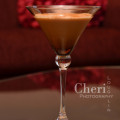 Chocolate Snowflake Martini is creamy with chocolaty nut flavors and terrific spicy cinnamon aroma. {recipe and photo credit: Mixologist Cheri Loughlin, The Intoxicologist}
