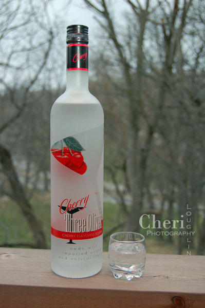 Three Olives Cherry Vodka review photo {photo credit Cheri Loughlin}