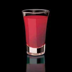 Three Olives Pink Lemonade Shot - photo courtesy of Three Olives Vodka representatives