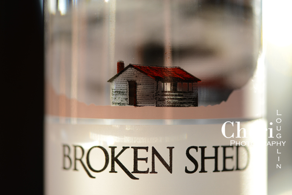 Broken Shed Vodka is a product of New Zealand.