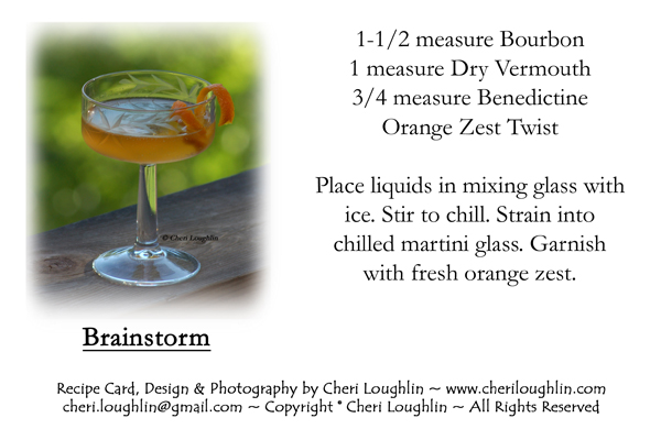 Brainstorm Recipe Card - Click on photo for larger size. Right click to print or save. Personal Use Only Please.