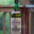 Laphroaig Quarter Cask tasting: The smoke comes across just right, lighting a hazy fireplace tickle deep in the throat. It reminds me of Lauren Bacall with her class and character. Laphroaig warms for the long haul; deep, honorable, worthy of one's judicious attention to the complexity of the spirit, yet willing to disentangle the soul for an evening of leisure. ~ The Intoxicologist