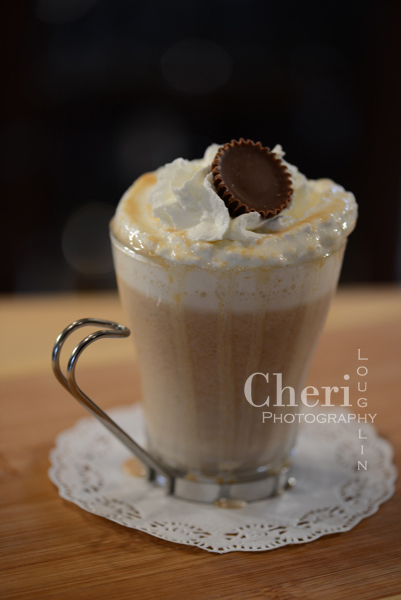 Peanut Butter Cup Hot Chocolate is made with common kitchen ingredients and tastes fabulous with or without rum, so it's perfect for the entire family. Single serve or multiply recipe to serve to many.