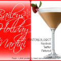 The Baileys Holiday Martini is as easy as one, two, three ingredients with optional fresh raspberry garnish.
