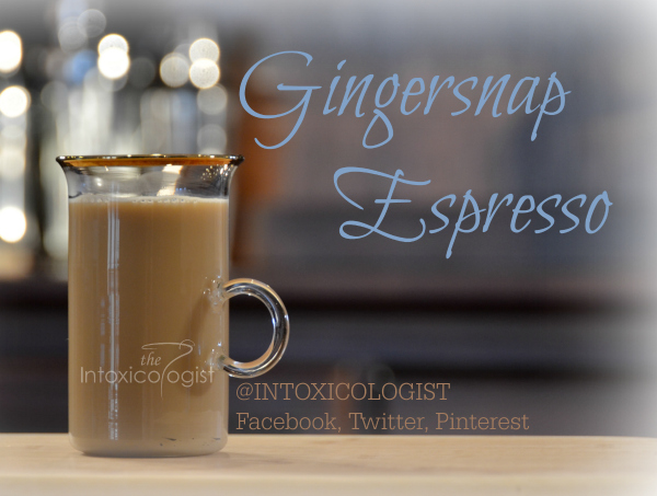 Gingersnap Espresso is a warming, lightly sweet, gingersnap cookie coffee. Top with vanilla whipped cream and allspice sprinkle for an even more enchanted brew.