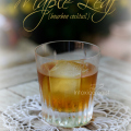 The Maple Leaf cocktail is simple with sophisticated flavor. It's made with three ingredients that you're sure to have on hand right now!
