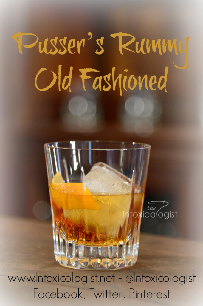 This is a nice twist on one of my favorite classic cocktails, the Old Fashioned. This version uses rum and flavorful maple syrup for light sweetness. Bitters add a little spiced touch to the drink.