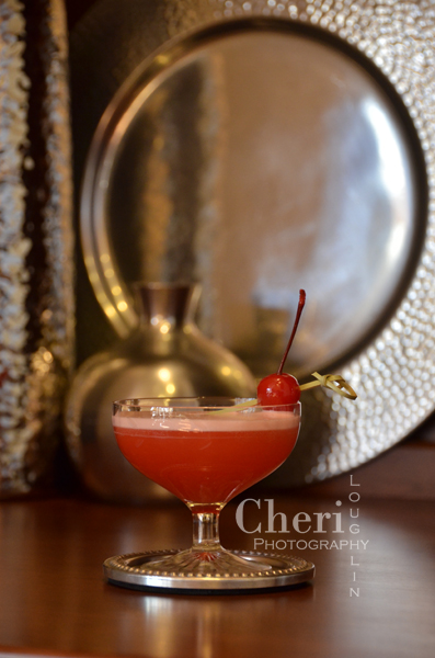 This cocktail uses maraschino cherry infused rum for lots of pucker up sweetness. The Maraschino Cherry Sour is sweet and sour with beautiful foam top.
