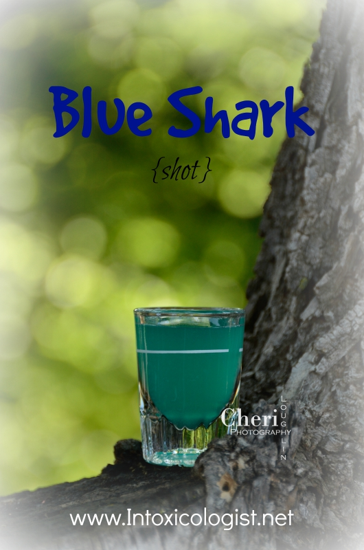 Blue Shark - 1 of 4 easy tequila drinks for National Tequila Day, July 24