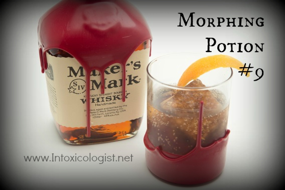 Creative flavored ice changes your Halloween drink in the blink of an eye. This isn't your ordinary herb or fruit infused ice. Transform classically styled cocktails into savory fright night must have drinks. Your guests will thank you.