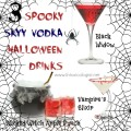 Bewitch your Halloween guests with spookily dressed drinks from SKYY Vodka. Black Widow, Vampire's Elixir and Wicked Witch Apple Punch