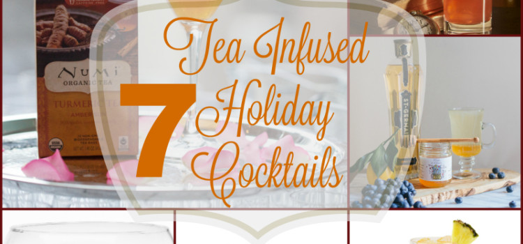 7 Tea Infused Cocktails: There are so many delicious tea flavors on the market to play with in recipes. One of my favorite ways to use tea in cocktails is making the tea into syrup.