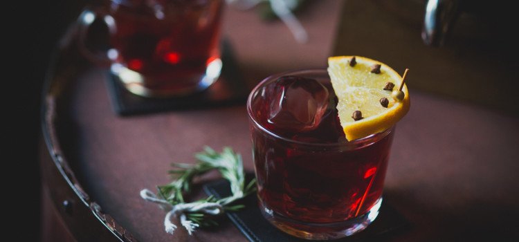 Sherry Merry Punch is one of 4 Zacapa Rum seasonal cocktail recipes.