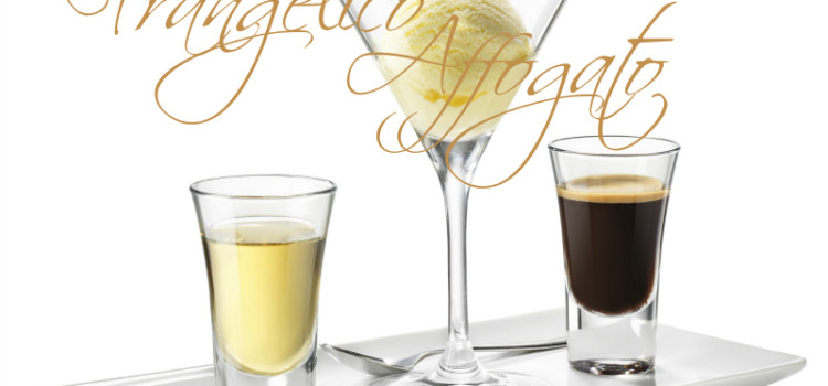 The Frangelico Affogato ice cream dessert is not only elegant, but delicious. Only three ingredients and you're ready for dessert.