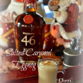 Maker's 46 #GetCozyCocktail Eggnog Challenge. This eggnog is rich and creamy with gentle spice flavor. It's eggy enough to carry the feel of eggnog, without being overbearing. It is full of rich pumpkin spice, but not actual pumpkin.