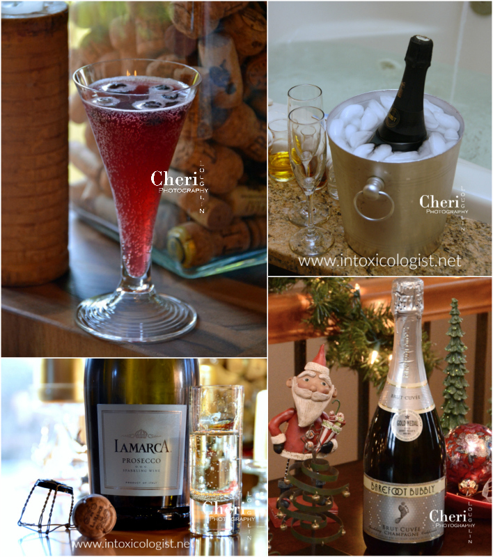 Champagne and bubbly is for any time and any occasion. The flavor is light and tickle your nose fun. And bubbly doesn't have to cost a fortune to taste good. These festive sparklers range from $10 to $15 per 750ml bottle. Some come in four-pack single serve portions. Bonus: Goodnight Kiss bubbly cocktail.