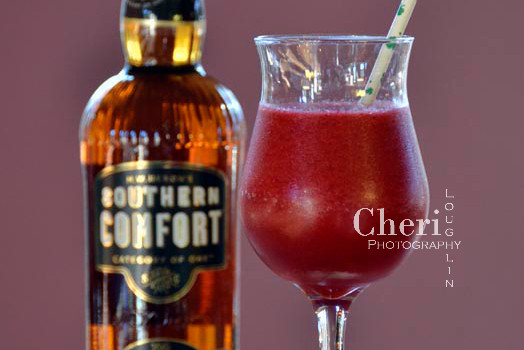 This frozen drink contains lots of fruity cherry flavor with light sweetness. Its fruity concoction displays subtle whiskey warmth in the finish. It totally hits the spot.
