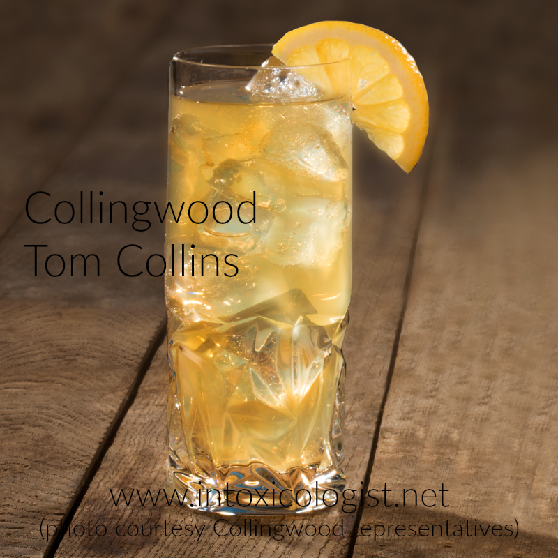 Collingwood Canadian Whisky contains light vanilla sweetness with rich nutty fruitcake feel. Try it in this easy to make Tom Collingwood.