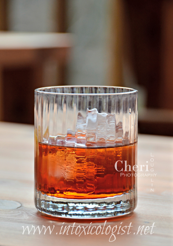 The Agavoni cocktail recipe is attributed to a German bartender by the name of Bastian Heuser. This recipe is the tequila version of the Negroni classic cocktail.