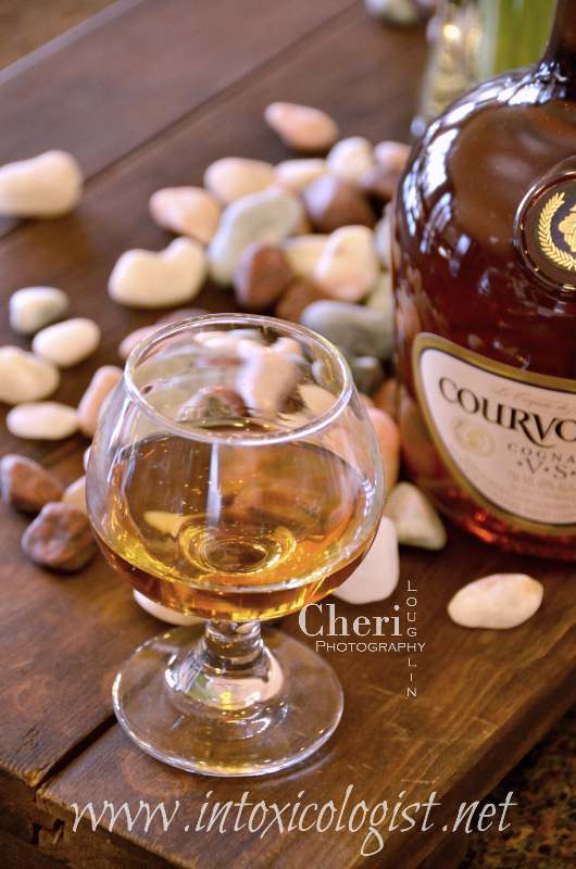 Review: Courvoisier Cognac VS yields deep fruit flavors (dried fruits such as fig, dates, apricot and raisin.) There is nut skin dryness in the follow through. This cognac is warming, but without burn.