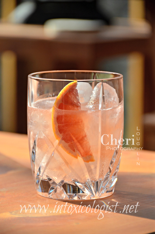 """FOS Greek Mastiha Liqueur is made from the """"tears"""" of the Mastiha tree only found in Greece. Try it chilled or in the Mastic Grapefruit recipe with Aperol."""