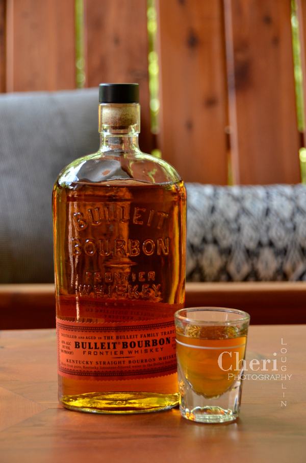 Bulleit Bourbon review with Cherry Smash cocktail perfect for summer sipping!