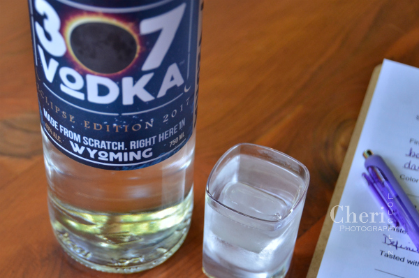 307 Vodka Solar Eclipse 2017 Edition celebrates the first solar eclipse in 99 years.