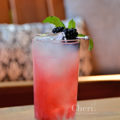 Blackberry Smash with the one of a kind Brockmans Gin with blackberry and blueberry botanicals.