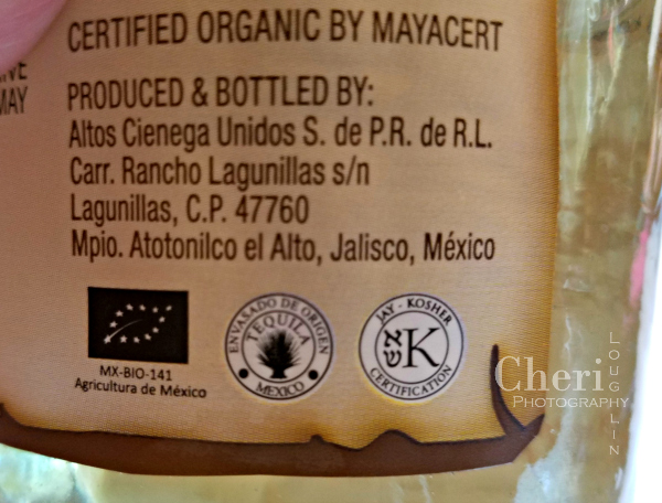 El Consuelo Tequila Reposado is certified organic and kosher. It is creamy smooth with light grassy sweetness.