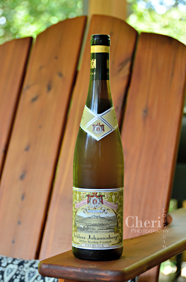 Schloss Johannisberg Gelblack Riesling Feinherb is a much sought after and recommended Riesling. It is rather dry and tart with very little sweetness.