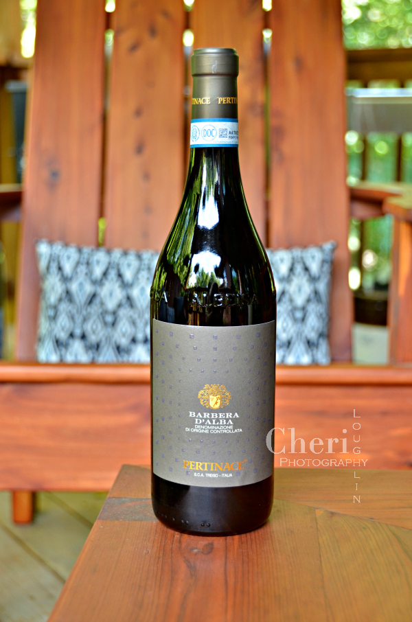 Pertinace Barbera d'Alba DOC 2014 is fruit forward Italian wine with bold flavor and light sweetness in lovely balance.