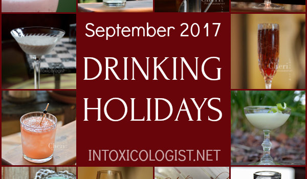 September 2017 Drinking Holidays