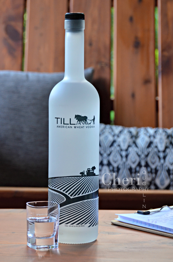 "Till American Wheat Vodka is made in Kansas by hardworking people. Excellent for martinis or cocktails like the ""Till We Meet Again"" ginger and grapefruit long drink."