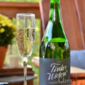 Finke's Widow Chardonnay is a lovely sparkling wine offered by Winc.com at a $13 price point. Sip as is or top off your favorite brunch cocktails.