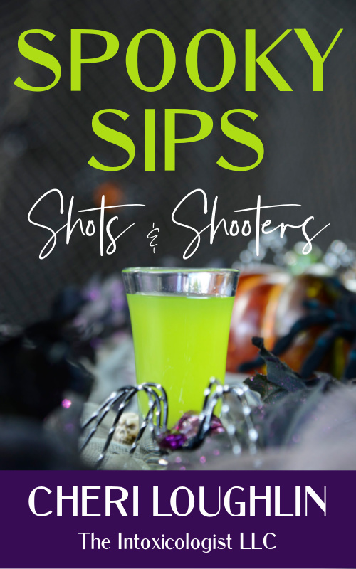 Book Cover: Spooky Sips Shots & Shooters