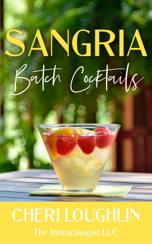 Book Cover: Sangria Batch Cocktails